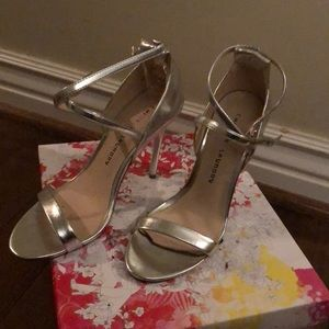 """Strappy Chinese Laundry 3"""" heels ; New !"""